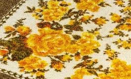 Красочная ткань таблицы Стоковая Фотография