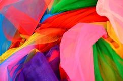 Красочная ткань для удачи Стоковые Изображения