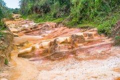 Красочная тропа Стоковое фото RF