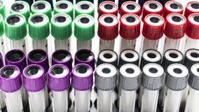 Красочная трубка лаборатории стоковое изображение