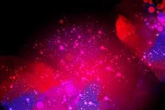 Красочная художническая творческая предпосылка космоса Стоковое фото RF