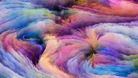 Красочная элегантность краски иллюстрация вектора