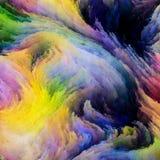 Красочная элегантность краски иллюстрация штока