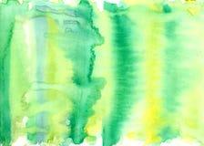 Красочная яркая предпосылка конспекта акварели Стоковые Изображения RF