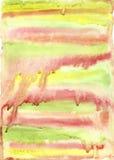 Красочная яркая предпосылка конспекта акварели Стоковое Изображение RF