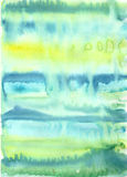 Красочная яркая предпосылка конспекта акварели Стоковые Фотографии RF