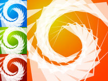 Красочная яркая спирально предпосылка Спираль, предпосылка s вортекса иллюстрация вектора
