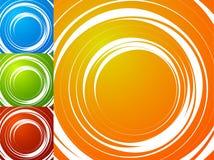 Красочная яркая спирально предпосылка Спираль, предпосылка s вортекса Стоковое Изображение RF