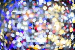 Красочная blured светлая предпосылка Стоковые Изображения RF