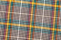 Красочная checkered предпосылка текстуры Стоковая Фотография