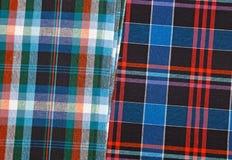 Красочная checkered предпосылка текстуры Стоковые Изображения RF