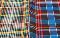 Красочная checkered предпосылка текстуры Стоковые Фотографии RF