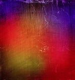 Красочная grungy абстрактная предпосылка стены Стоковые Фотографии RF
