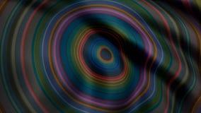 Красочная kaleidoscopic анимация закрепляет петлей бесконечно - большой для предпосылок вебсайта Галлюциногенная анимация калейдо иллюстрация вектора