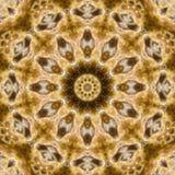 Красочная kaleidoscopic картина Стоковое Фото