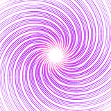 Красочная monochrome абстрактная спираль, предпосылка свирли передерните иллюстрация вектора
