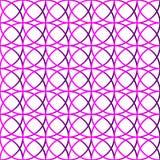 Красочная repeatable предпосылка с пересекая кругами Seamle Стоковые Изображения RF