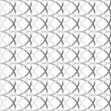 Красочная repeatable предпосылка с пересекая кругами Seamle Стоковое Изображение RF