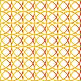 Красочная repeatable предпосылка с пересекая кругами Seamle Стоковая Фотография RF