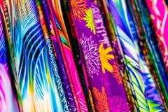 Красочная silk одежда Стоковая Фотография