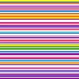 Красочная striped абстрактная предпосылка, переменные нашивки ширины иллюстрация вектора