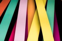 Красочная striped абстрактная предпосылка, переменные нашивки ширины стоковое изображение rf