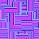 Красочная striped безшовная картина Стоковые Изображения RF