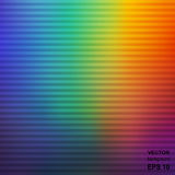 Красочная Striped предпосылка конспекта радуги иллюстрация штока