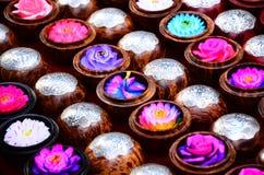 Красочное высекаенное мыло Стоковые Изображения