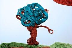 Красочное дерево от потоков Стоковые Фотографии RF
