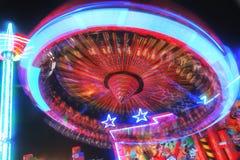 Красочное закручивая колесо стоковые изображения rf