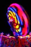 Красочное закручивая колесо стоковое изображение rf