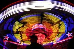Красочное закручивая колесо стоковая фотография