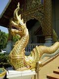 Красочное золото пагоды стоковые фотографии rf