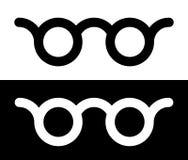 Красочное зрение стекел, optician, значок концепции optometry Стоковая Фотография