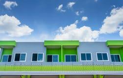 Красочное здание в Таиланде Стоковое Изображение