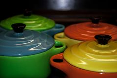 4 красочное и живые шары стоковая фотография