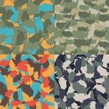 Красочное камуфлирование Америки городское Комплект картины camo формы США безшовной Ткань ткани вектора Войска печатают дизайн бесплатная иллюстрация