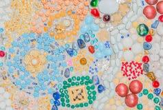 Красочное керамическое украшение картины Стоковая Фотография RF