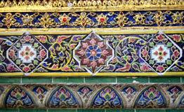 Красочное керамическое украшение Стоковое Изображение