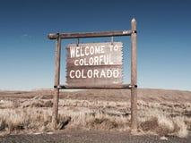 Красочное Колорадо стоковая фотография rf