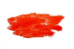 Красочное красное пятно акварели с нашлепкой краски aquarelle стоковые изображения rf