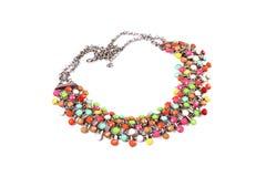 Красочное ожерелье Стоковые Изображения