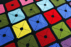 Красочное одеяло Стоковые Фото