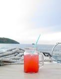 Красочное питье коктеиля Стоковая Фотография RF