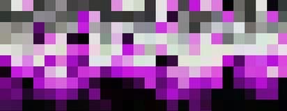 Красочное приданное квадратную форму знамя мозаики в широкой предпосылке бесплатная иллюстрация