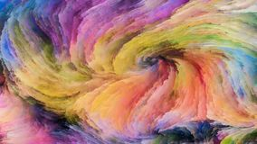 Красочное решение краски стоковое фото rf