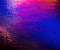 Красочное светлое отражение на воде Стоковые Фото