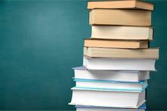 Красочное собрание книг, взгляд конца-вверх Стоковые Изображения