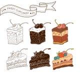 Красочное собрание печенья Стоковое Фото